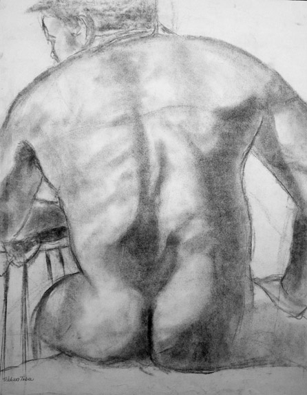 View of Man's Back