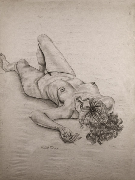 Laying Woman